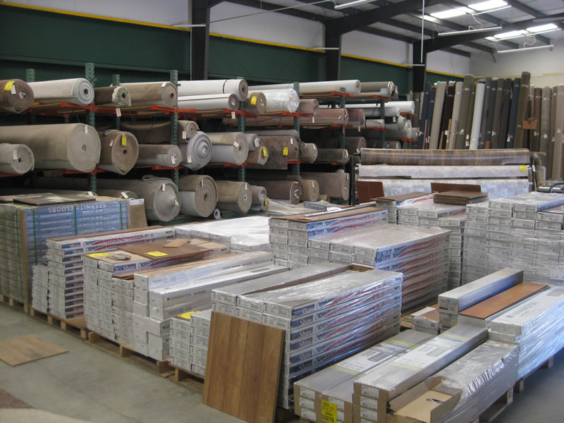 Laminate flooring discounted by Bigfoot Carpet